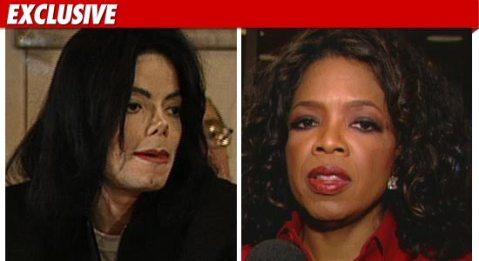 TMZ.com graphic of Michael Jackson and Oprah