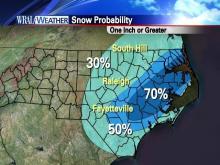 Snow possibilities for North Carolina via WRAL.com