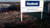 Facebook's new data center location in Rutherford County, NC.