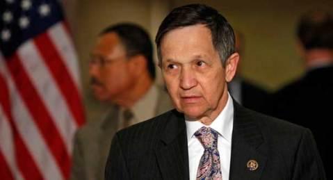 Rep. Kucinich via politico.com from AP