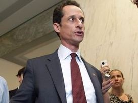 Video still of Rep. Weiner courtesy of realclearpolitics.com